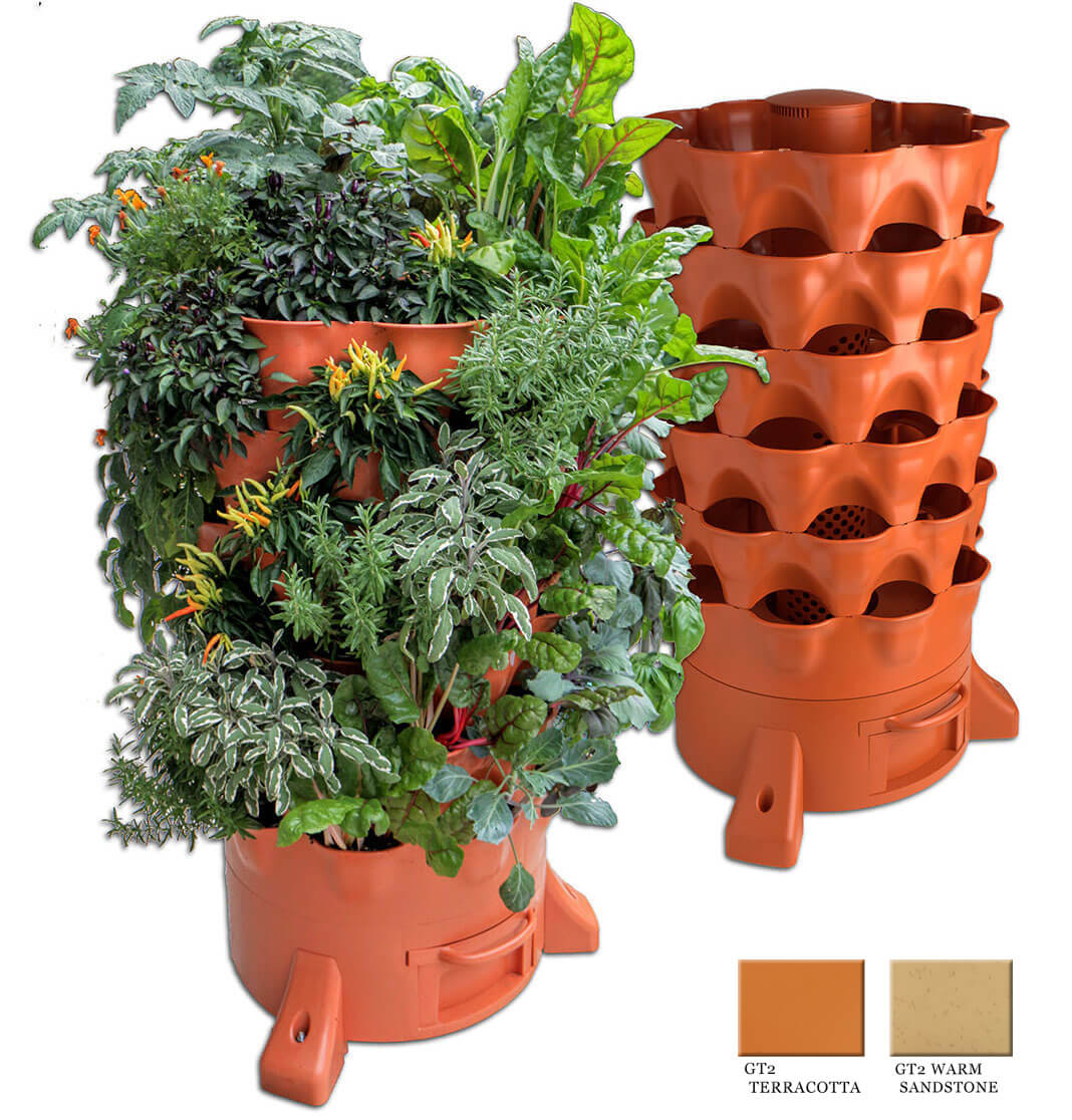 Garden Tower - The World's Most Advanced Vertical Garden Planter